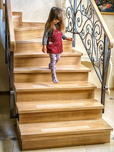 Kenley Anti Slip Stair Treads Pack Of 10 Clear Non Slip